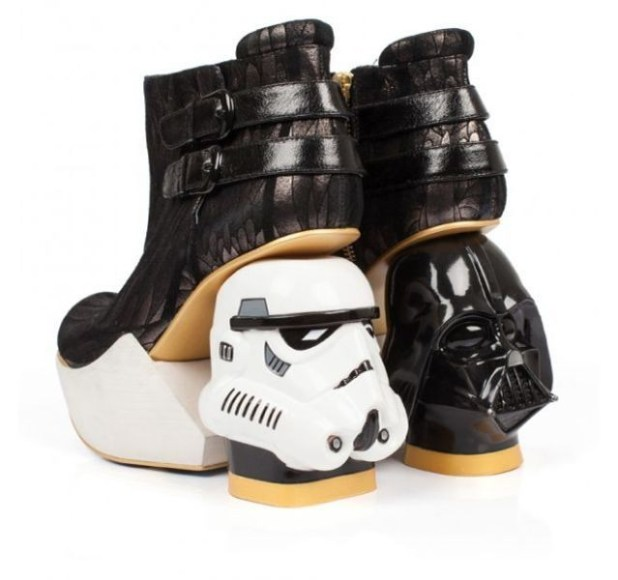 Star-Wars-themed-heels 50 Affordable Gifts for Star Wars & Emoji Lovers