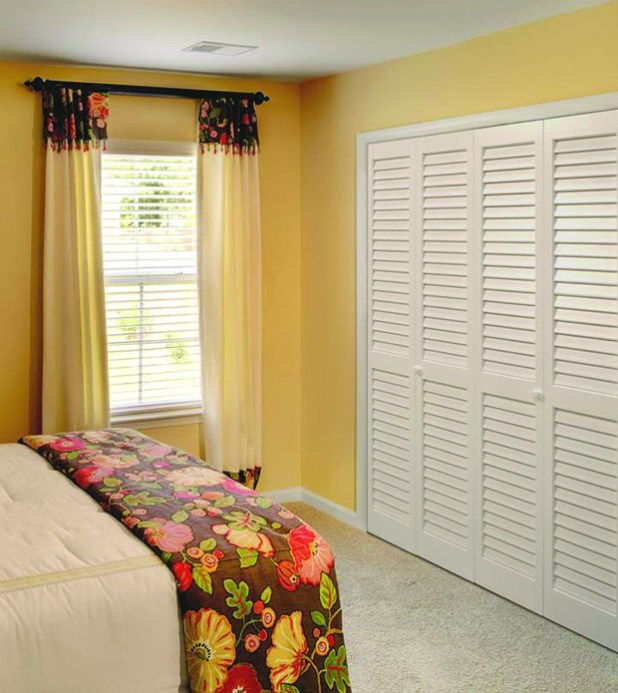 slatted-door-wardrobe4 6 Brilliant Designs of Bedroom Wardrobes