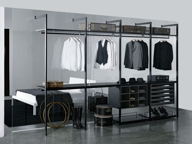 transparent-glass-wardrobe4-675x506 6 Brilliant Designs of Bedroom Wardrobes