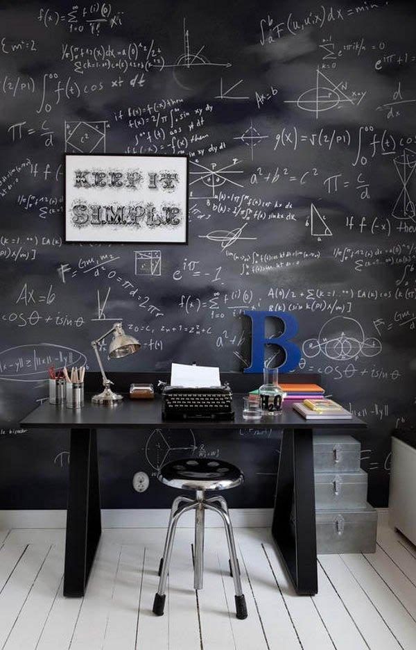 Chalkboard-Walls3 8 Office Decoration Designs For 2017