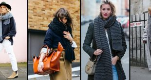 22 Scarf Trend Forecast for Fall & Winter 2017