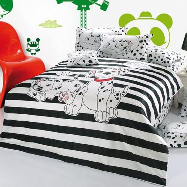 Dalmatian-Theme1 Top 5 Girls' Bedroom Decoration Ideas in 2017