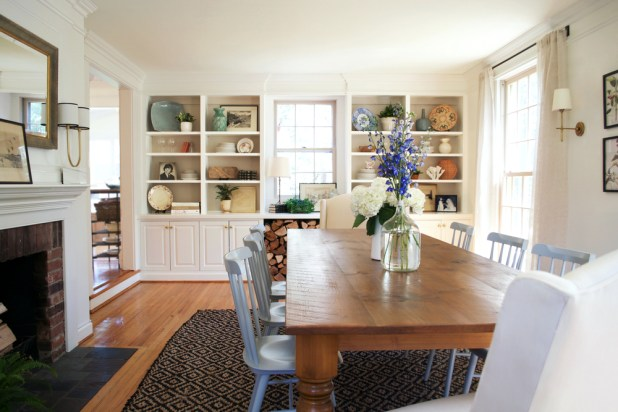 Dine-like-you-are-in-a-farmhouse1 +15 Best Luxurious and Modern Dining Room Design for 2017
