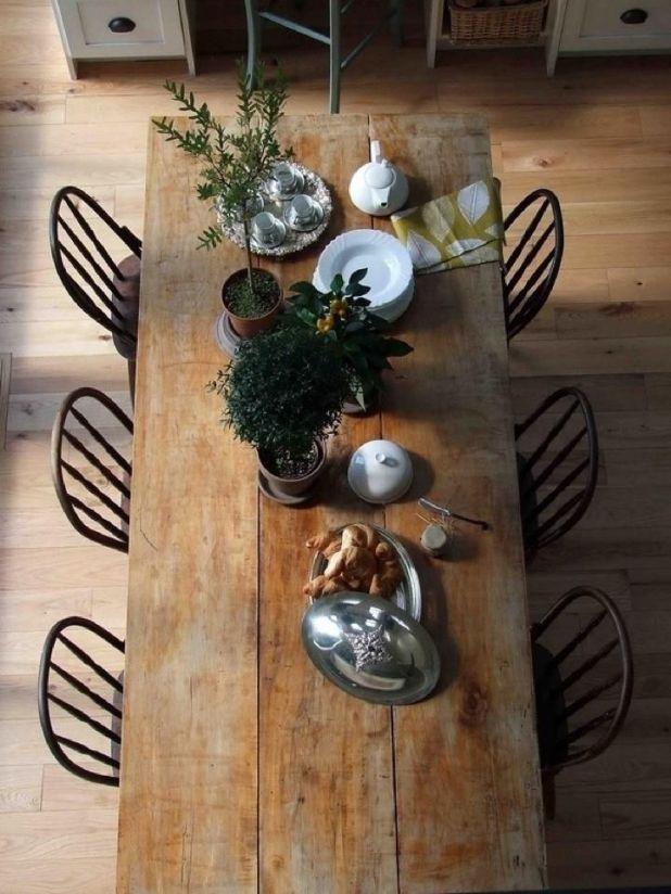 Dine-like-you-are-in-a-farmhouse2 +15 Best Luxurious and Modern Dining Room Design for 2017