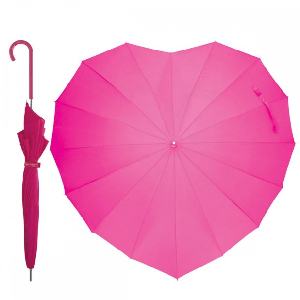 Heart-Shaped-Umbrella1 15 Unusual Designs For Umbrellas