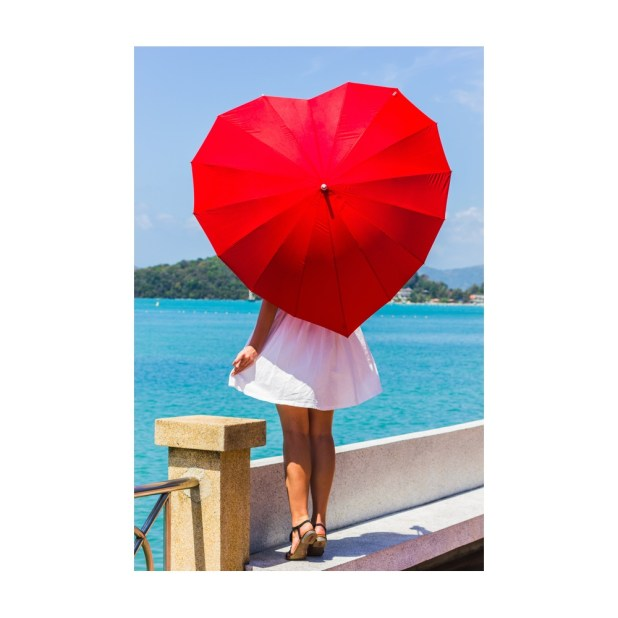 Heart-Shaped-Umbrella2 15 Unusual Designs For Umbrellas