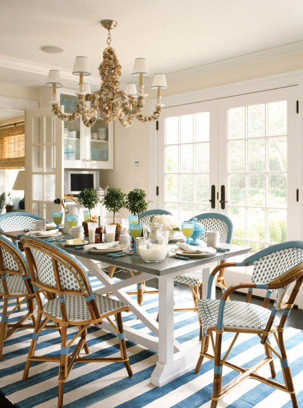 Parisian-Café-Inspired-Dining-Room2 +15 Best Luxurious and Modern Dining Room Design for 2017