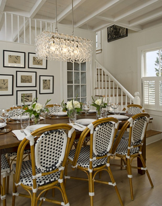 Parisian-Café-Inspired-Dining-Room3 +15 Best Luxurious and Modern Dining Room Design for 2017