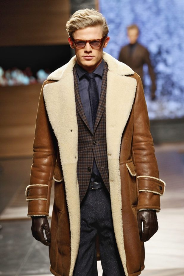 Shearling3 25+ Winter Fashion Trends for Handsome Men in 2017