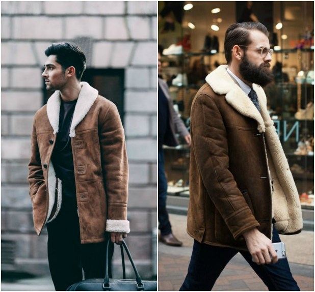 Shearling4 25+ Winter Fashion Trends for Handsome Men in 2017