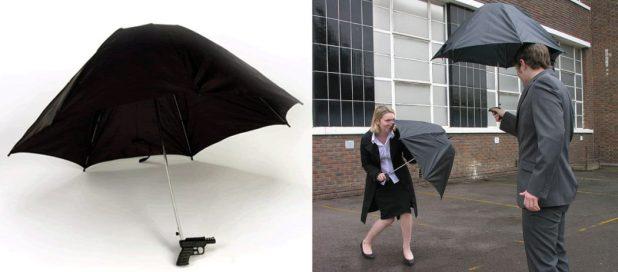 Water-Gun-Umbrella1 15 Unusual Designs For Umbrellas