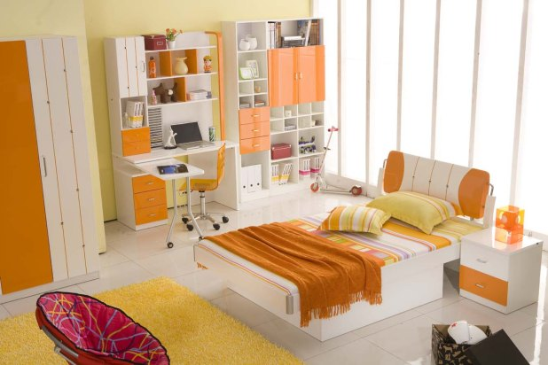 loving-orange-bedroom-orange-bedroom 25+ Orange Bedroom Decor and Design Ideas for 2017