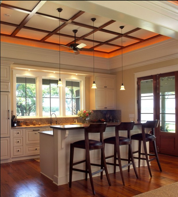 low-profile-contemporary-ceiling-design1-675x747 6 Designs of Suspended Ceiling Decors for 2017