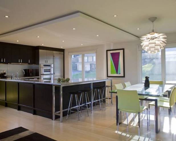 suspended-ceiling-kitchen2-675x540 6 Designs of Suspended Ceiling Decors for 2017