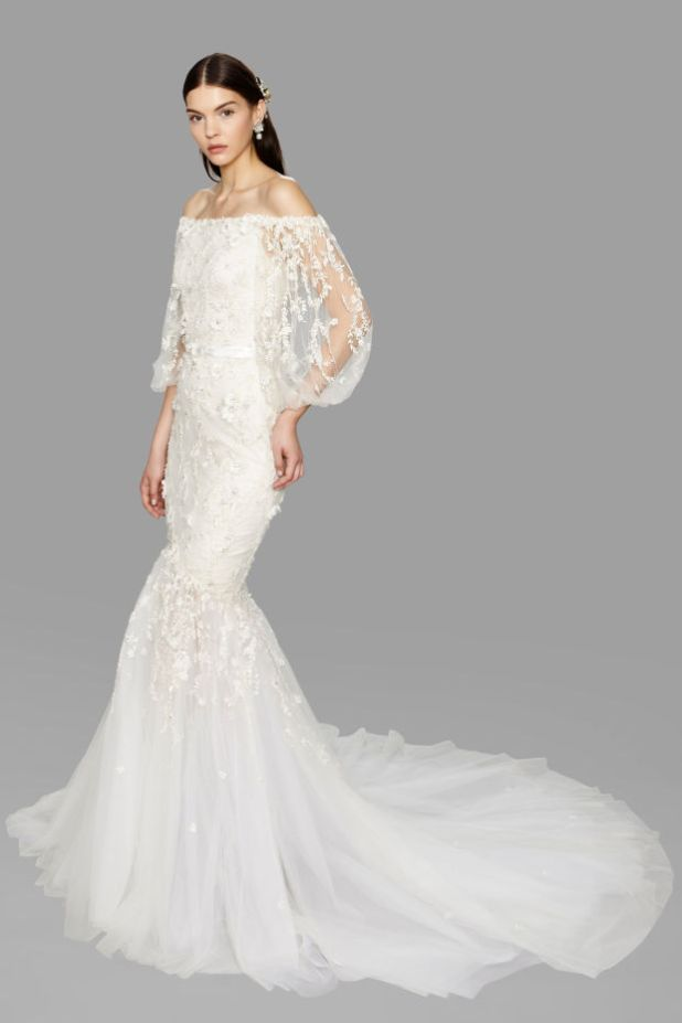 wedding-dress-Marchesa 2017 Wedding dresses Trends for a Gorgeous-looking Bride