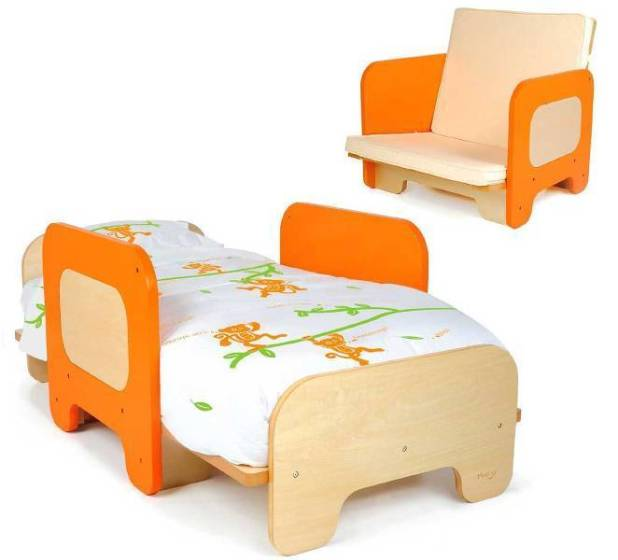 Convertible-Toddler-Bed 83 Creative & Smart Space-Saving Furniture Design Ideas in 2017