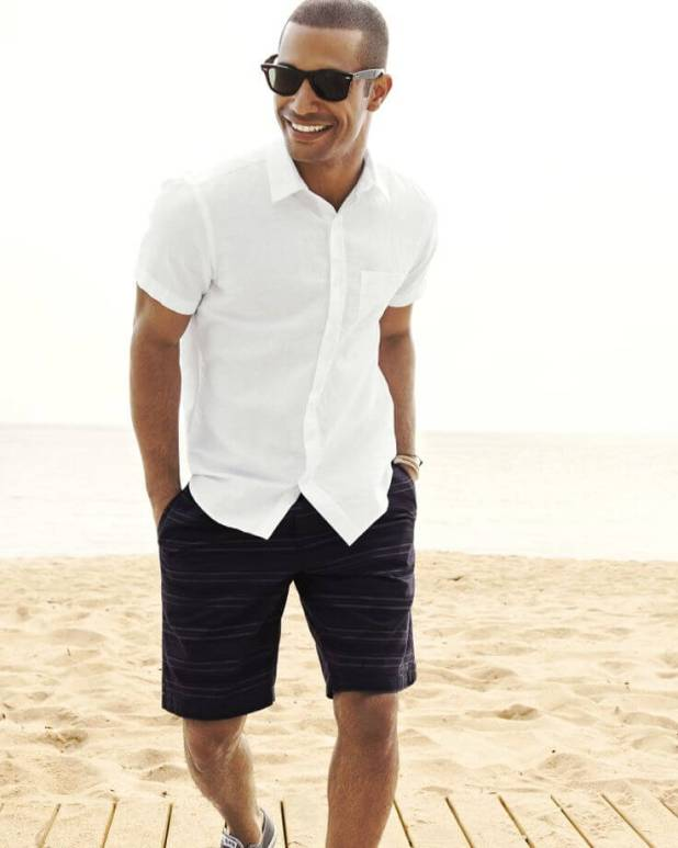 Shirt-with-Bermuda-675x844 10 Most Stylish Outfits for Guys in Summer 2017