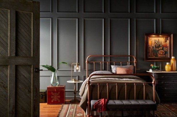 charcoal-and-light-gray-14 Newest Home Color Trends for Interior Design in 2017