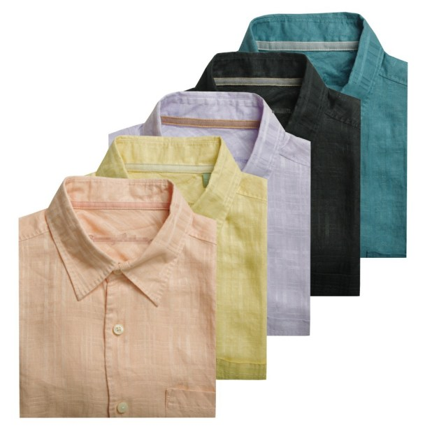 colorful-linen-shirts-675x675 10 Most Stylish Outfits for Guys in Summer 2017