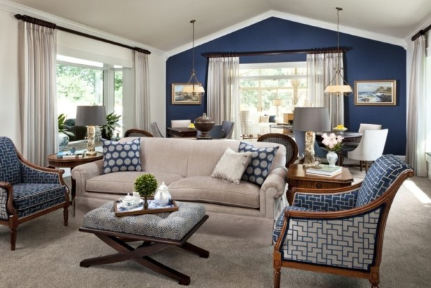 different-shades-of-blue-25 Newest Home Color Trends for Interior Design in 2017
