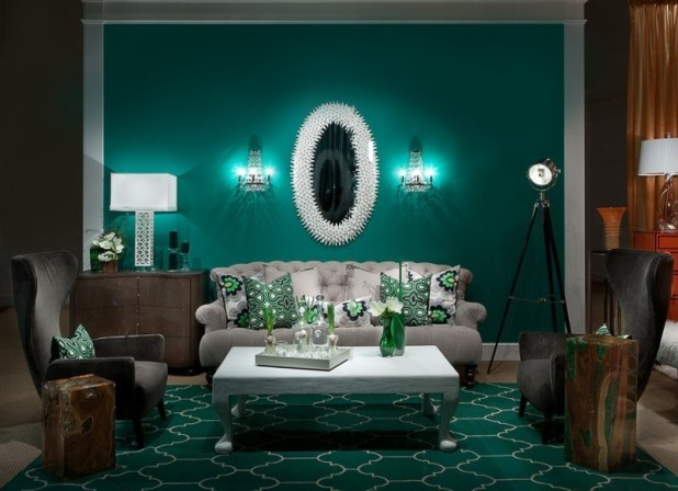 different-shades-of-green-14 Newest Home Color Trends for Interior Design in 2017