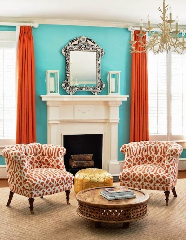 orange-2 Newest Home Color Trends for Interior Design in 2017