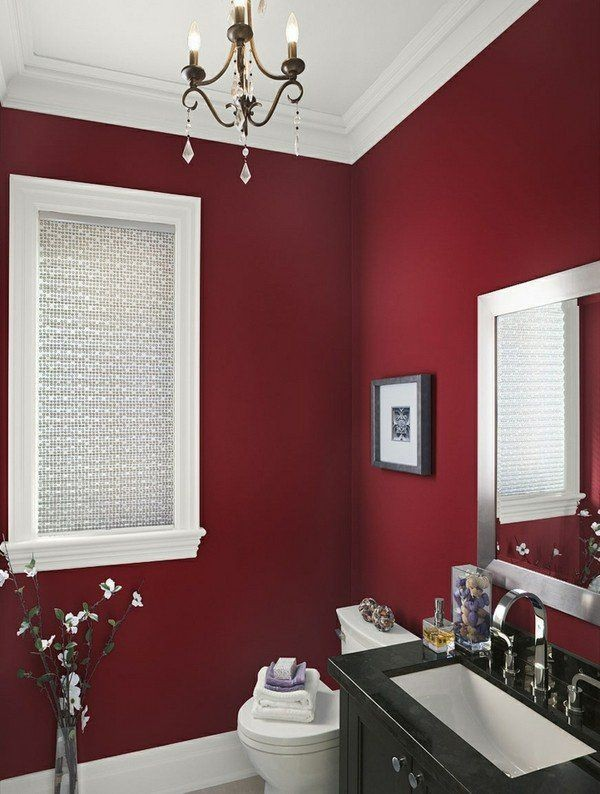 red Newest Home Color Trends for Interior Design in 2017