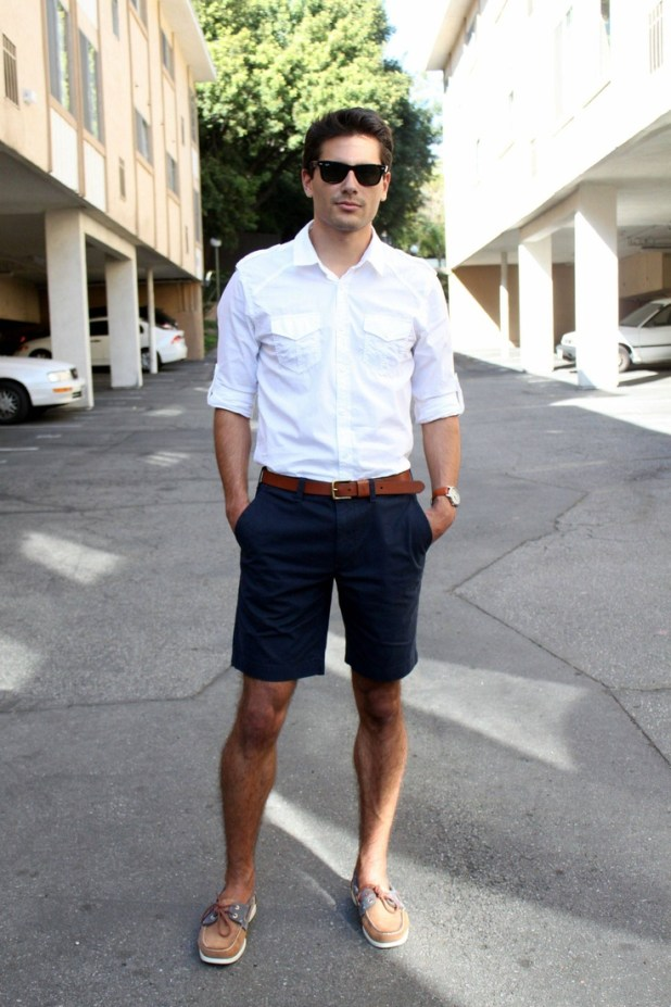 short-and-shirt-675x1013 10 Most Stylish Outfits for Guys in Summer 2017
