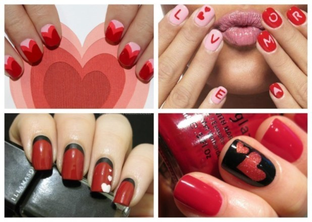 Valentines-Day-Nails-2017-125 50+ Lovely Valentine's Day Nail Art Ideas 2017