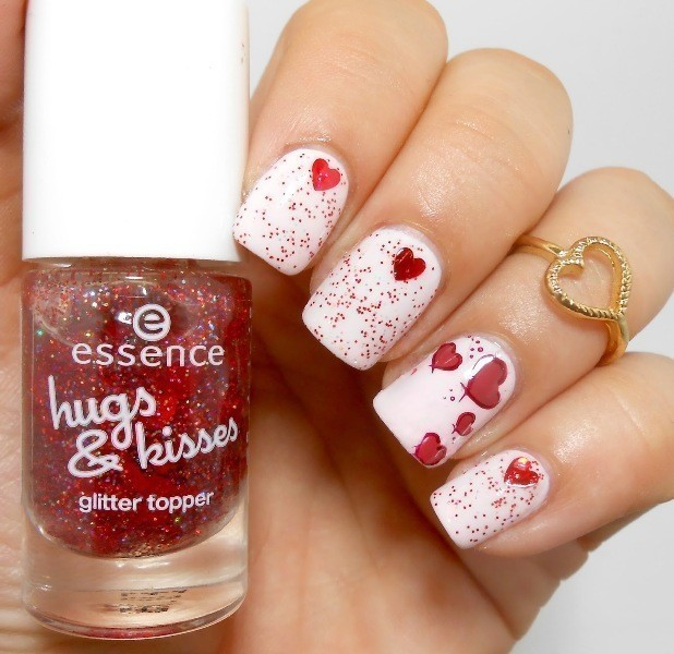 Valentines-Day-Nails-2017-67 50+ Lovely Valentine's Day Nail Art Ideas 2017