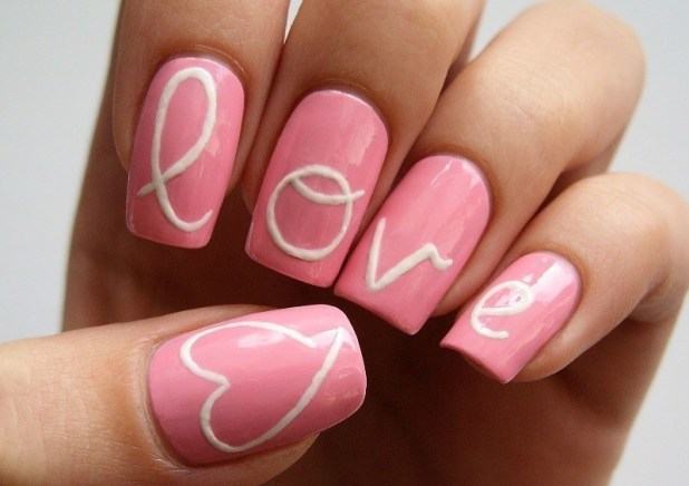 Valentines-Day-Nails-2017-85 50+ Lovely Valentine's Day Nail Art Ideas 2017