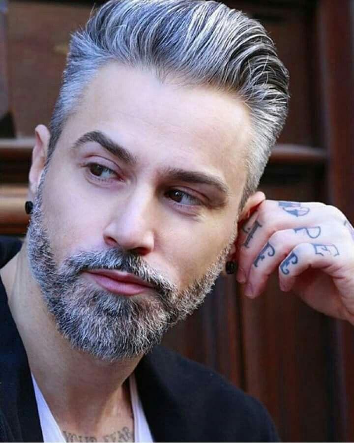 Cuidados de barbas blancas