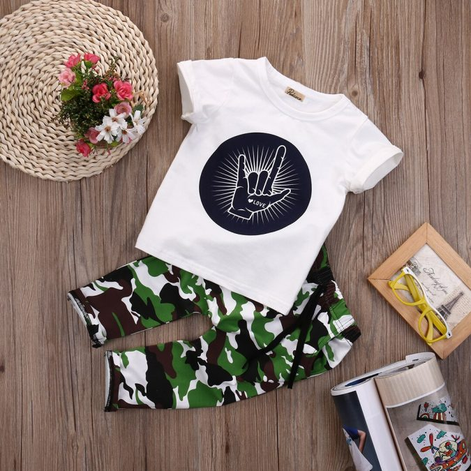 children-fashion-military-style-outfit-675x675 Children's Fashion 2019: Trends for Girls and Boys