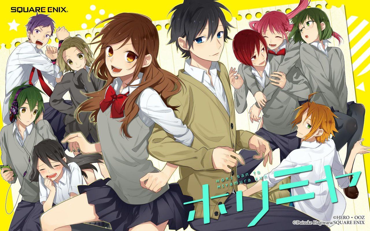Horimiya: best rom-com anime from 2021