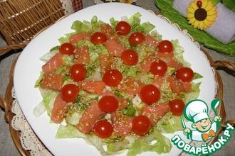 Recipe: salad na may pulang ilaw na ilaw