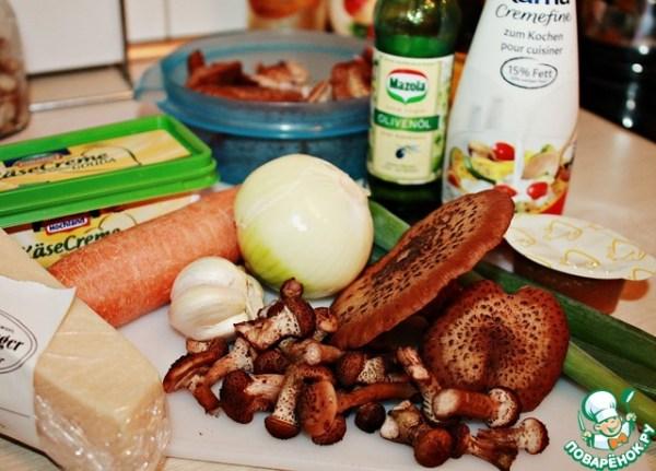 Суп с опятами – кулинарный рецепт