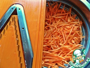 Салат на основе корейской моркови – кулинарный рецепт