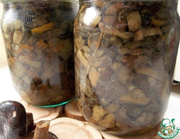 Жареные грибы на зиму – кулинарный рецепт