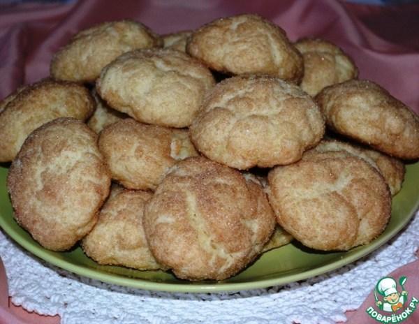 Творожное печенье с грушей и корицей – кулинарный рецепт