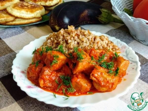 Гуляш с рисом в казане – кулинарный рецепт