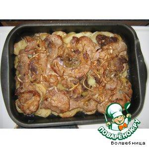 Жаркое с картофелем – кулинарный рецепт