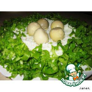 """Закуска """"Орлиное гнездо"""" - кулинарный рецепт"""