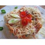 Салат из авокадо, корейской моркови с семгой – кулинарный ...