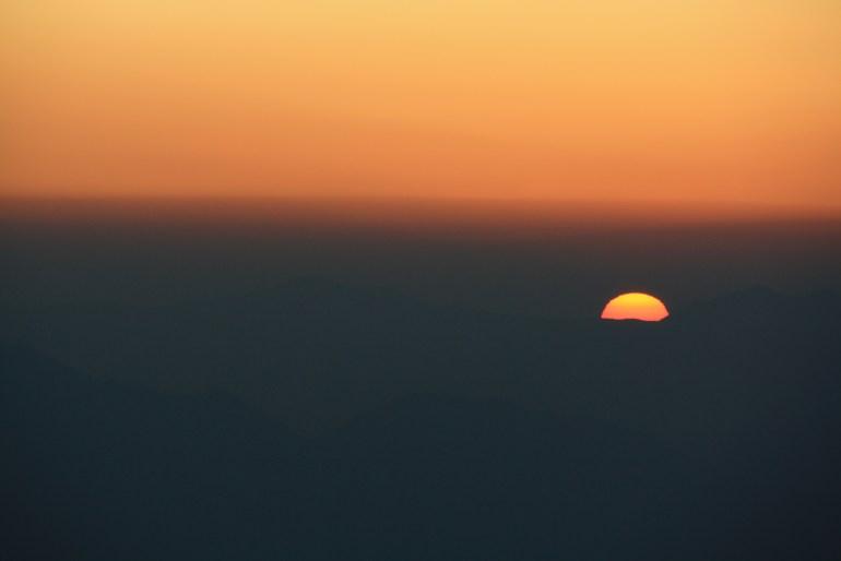 Východ slnka bol magický