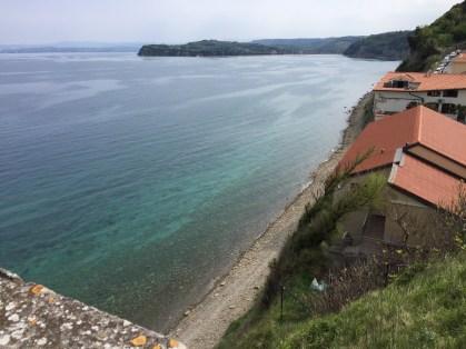 Slovinské more - výhľad zo zvonice
