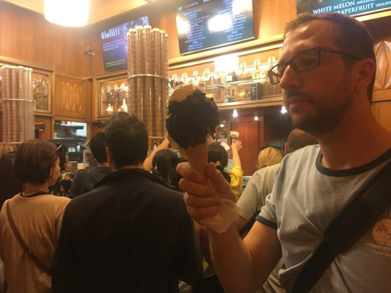A ako chutilo gelato Giolitti? Dozviete sa keď dopíšeme samostatný článok o jedle v Ríme, kde porovnávame aj všetky zmrzky, ktoré sme vyskúšali.