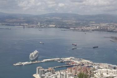 Gibraltársky záliv a prístav