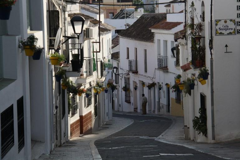 Krásne uličky v Estepone