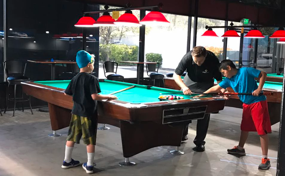 West State Billiards provides aid to a Southern California 'billiard/youth' program