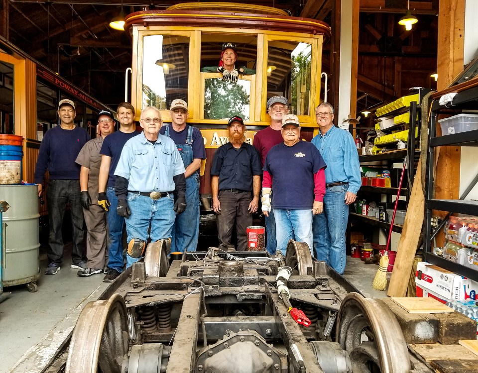 Poway-Midland Railroad Volunteers